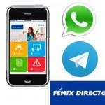 ¿Whatsapp y Telegram juntos? 'Seguro que Sí'