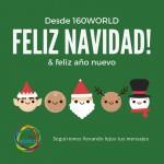¡160World os desea una Feliz Navidad y Feliz Año Nuevo!