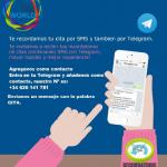 """RecordatorioCita """"SMS & Telegram"""""""