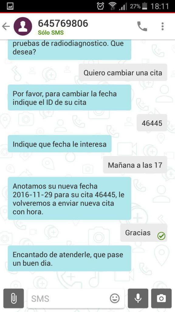 atención cliente chat bot
