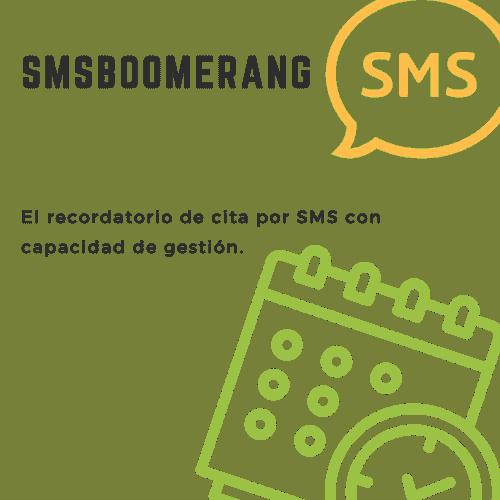 SMSBoomerang, el recordatorio de cita por SMS con capacidad de gestión.